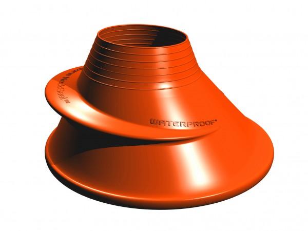 Silikon Halsmanschette Orange - Standard