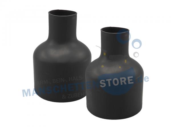 1 Paar Latex Armmanschetten Flaschenform Größe L