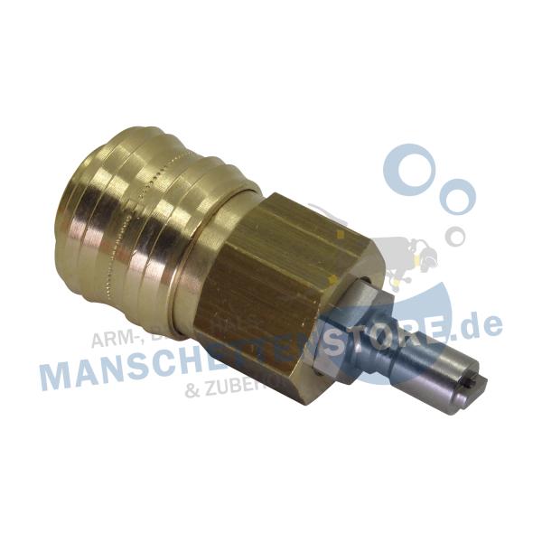 Adapter Inflatoranschluss –Werkstattkupplung 7,2mm