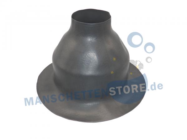 Latex Hals Manschette A55 Series Größe M