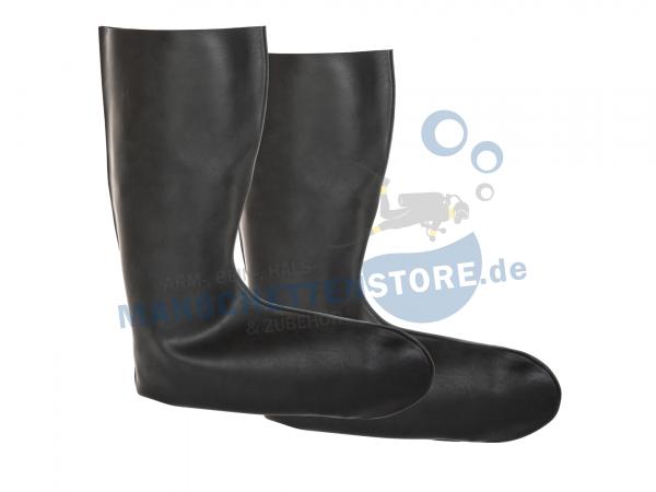 1 Paar 2D Latex Socken Größe XL