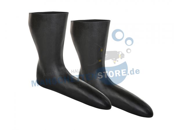 1 Paar 3D Latex Socken Größe L